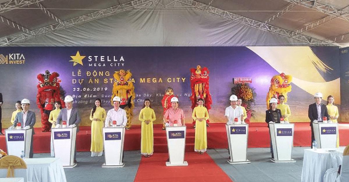 Ngân Thuận: Động Thổ Dự Án Stella Mega City