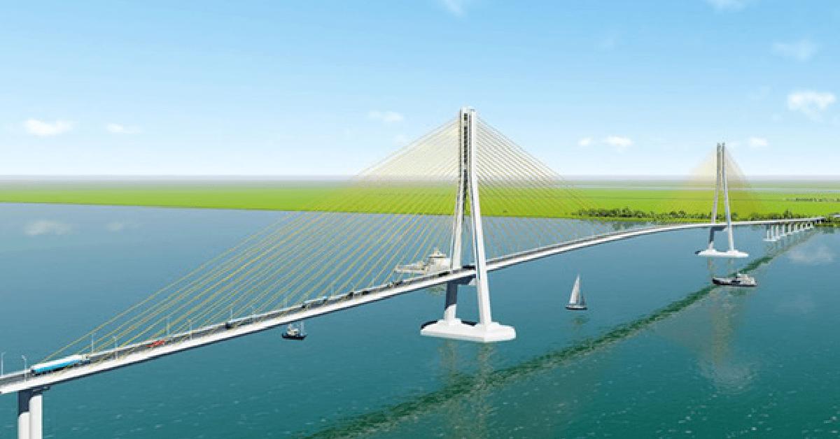 Cầu Đại Ngãi nối liền Sóc Trăng và Trà Vinh khi hoàn thiện sẽ giúp mở rộng giao thương, phá bỏ thế độc đạo của tuyến Quốc lộ 1.