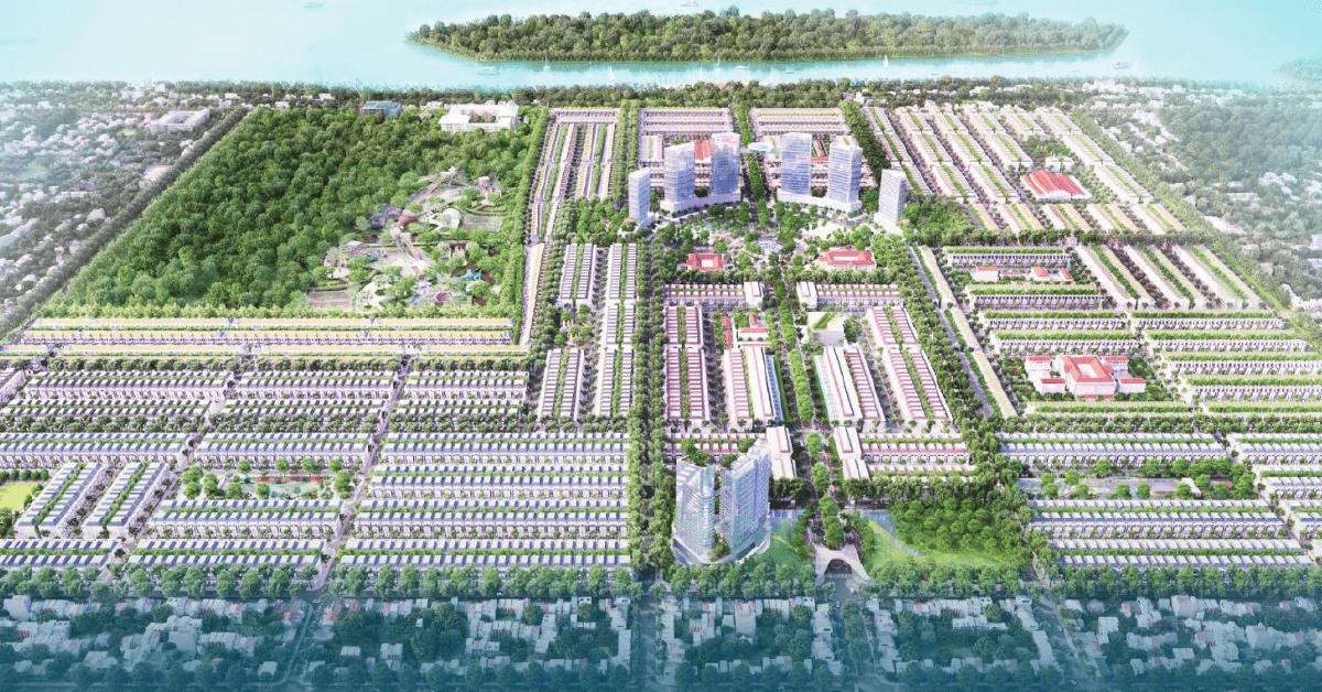 Stella Mega City với pháp lý sổ đỏ từng nền tạo an tâm cho nhà đầu tư.