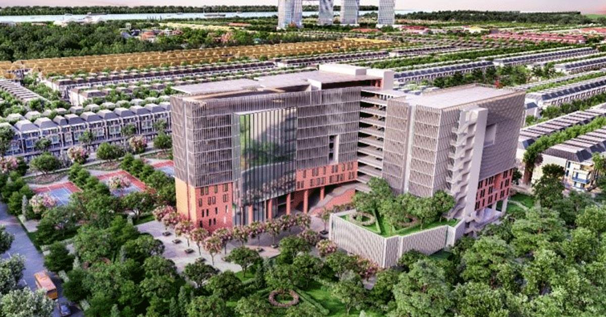 Stella Mega City được đầu tư hệ thống tiện ích đẳng cấp quốc tế với chuỗi đại siêu thị, trường học bệnh viện quốc tế, trung tâm hội nghị đa chức năng…