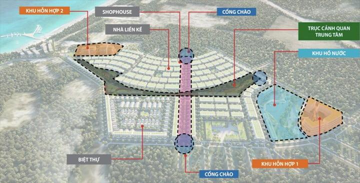 mặt bằng dự án Meyhomes Capital Phú Quốc