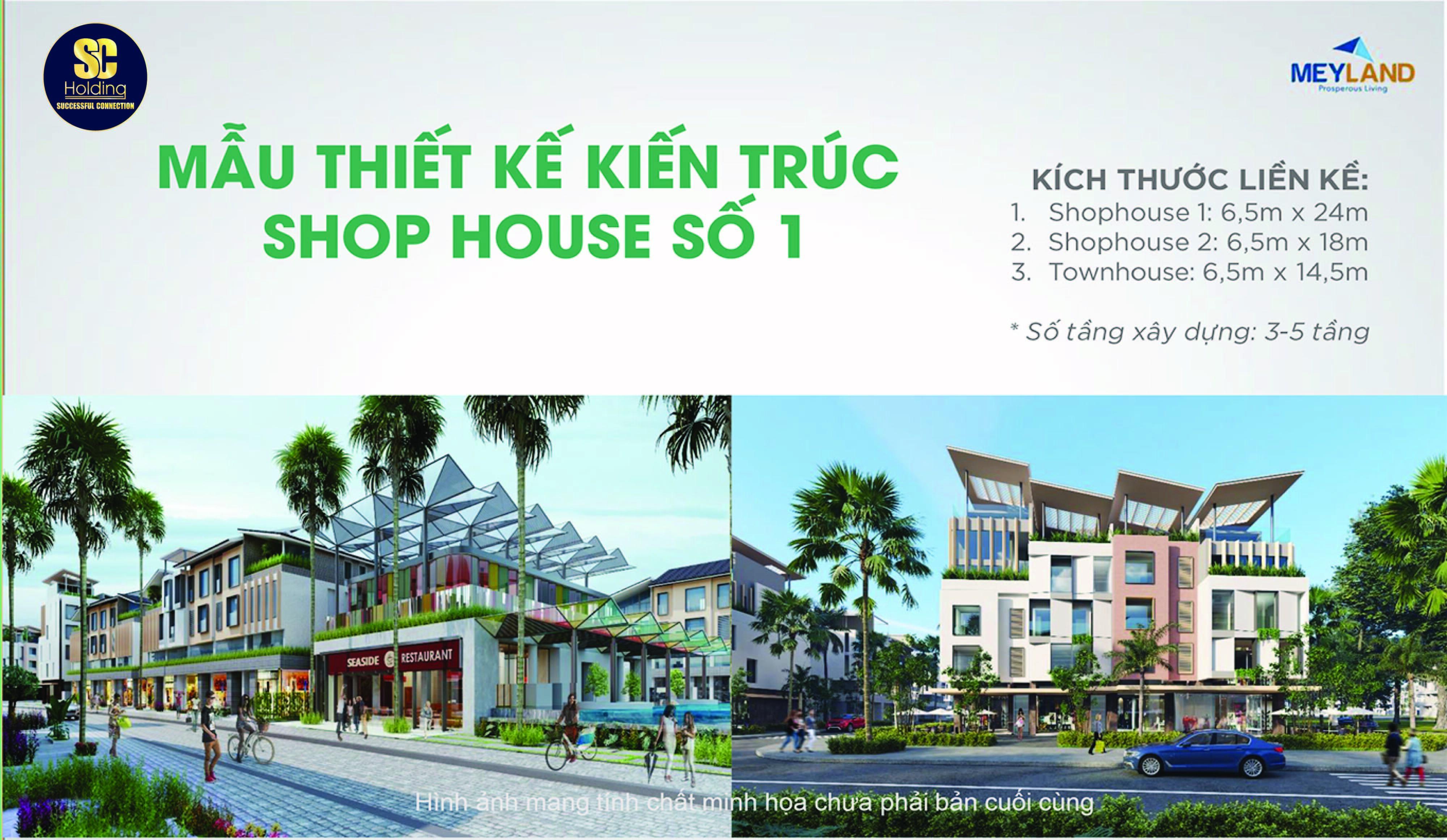Mẫu thiết kế Shophouse 1