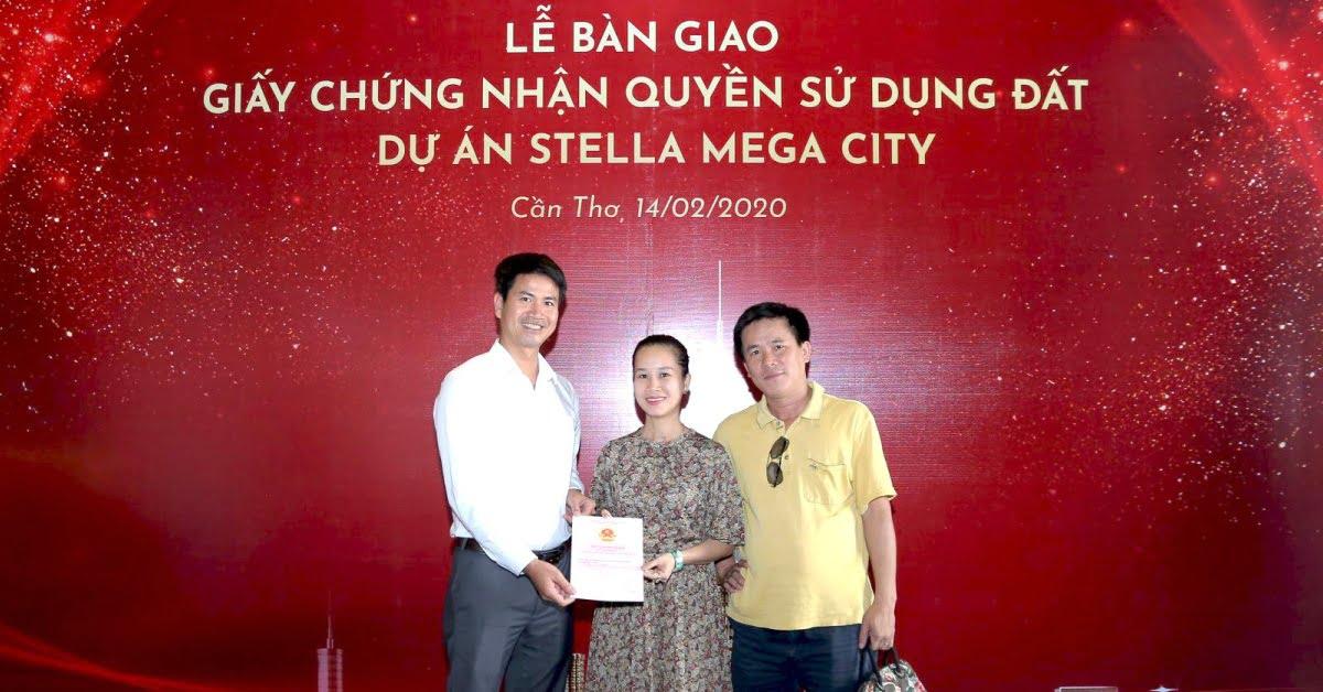 Dự Án Stella Mega City: ĐÃ HOÀN THIỆN PHÁP LÝ