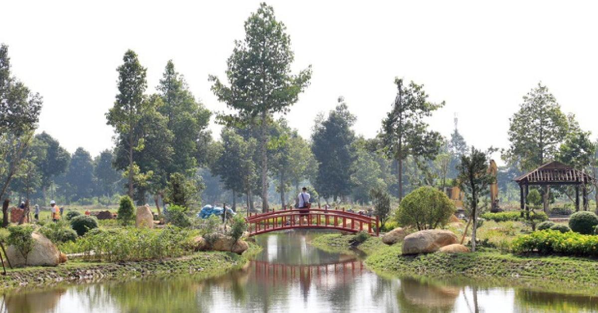 Không gian xanh đẹp mắt tại Vườn Nhật Bản – Stella Mega City