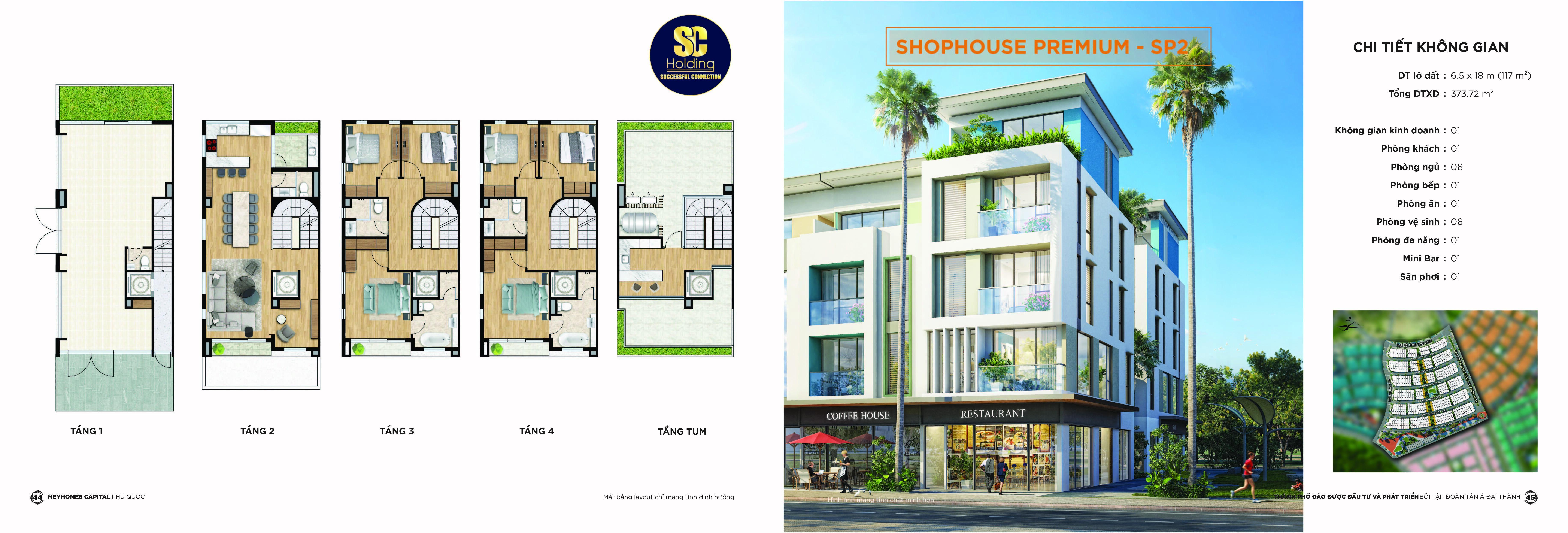 Shophouse Meyhomes Capital Phú Quốc