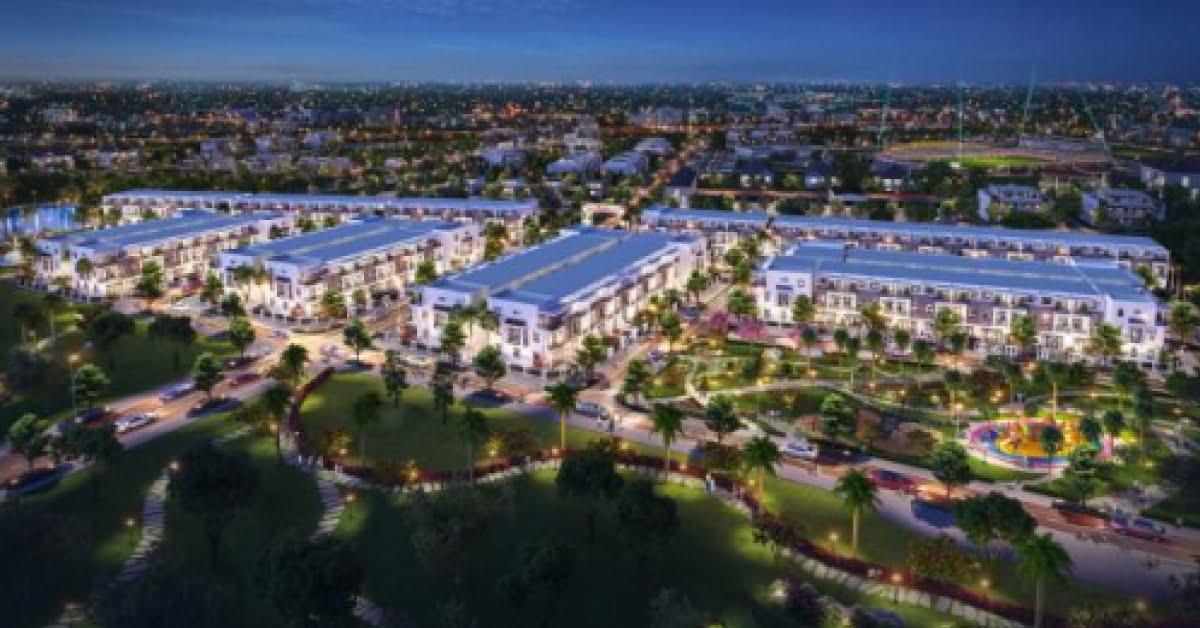 Phối cảnh dự án Thành Đô có tổng vốn đầu tư hơn 350 tỷ đồng tọa lạc tại quận Ô Môn - Cần Thơ.