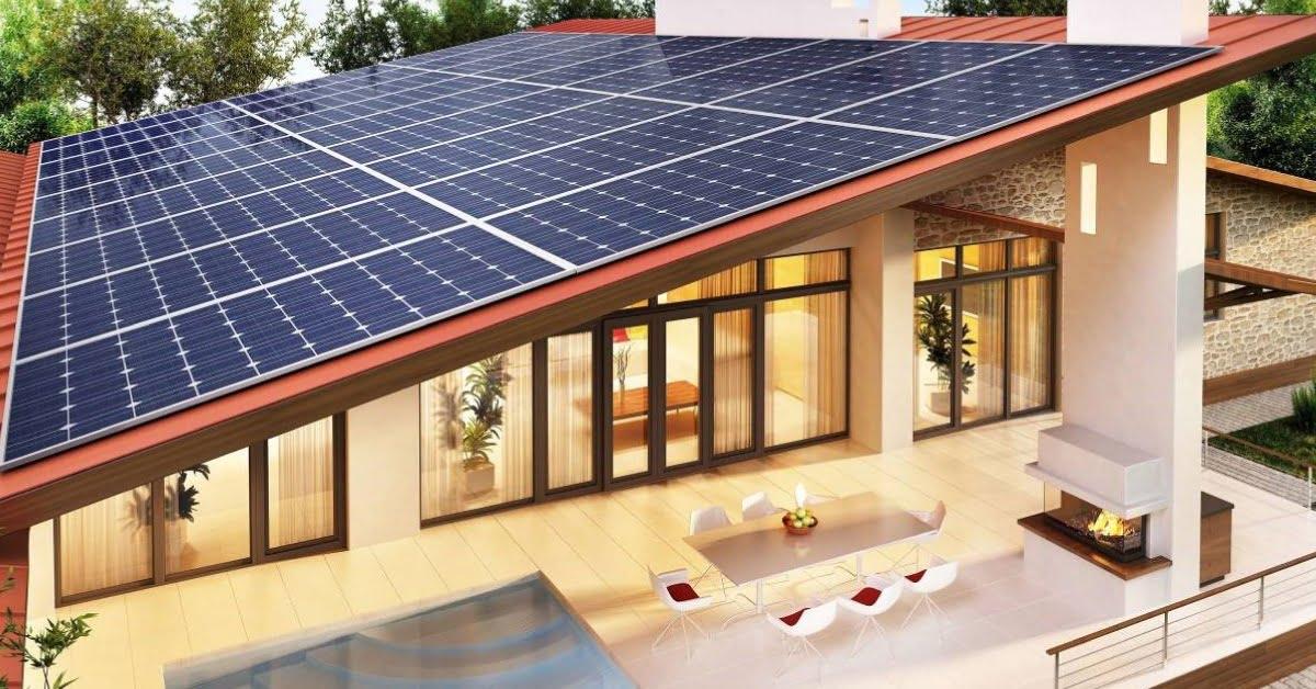 Ứng dụng điện năng lượng mặt trời thân thiện môi trường, tạo ra nguồn thu nhập từ việc bán lại điện dư cho nhà nước
