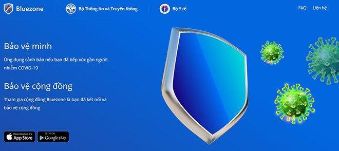 khẩu trang điện tử bluezone