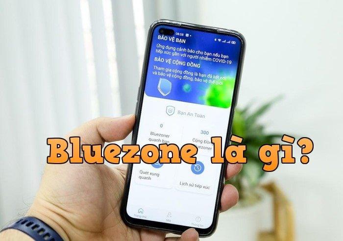 Khẩu trang điện tử Bluezone cảnh báo tiếp xúc người nhiễm COVID 19