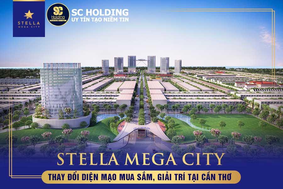 Không gian xanh tiện nghi tại The Central – Stella Mega City