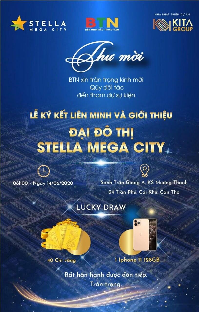 SC HOLDING giới thiệu phân khu The Central dự án Stella Mega City