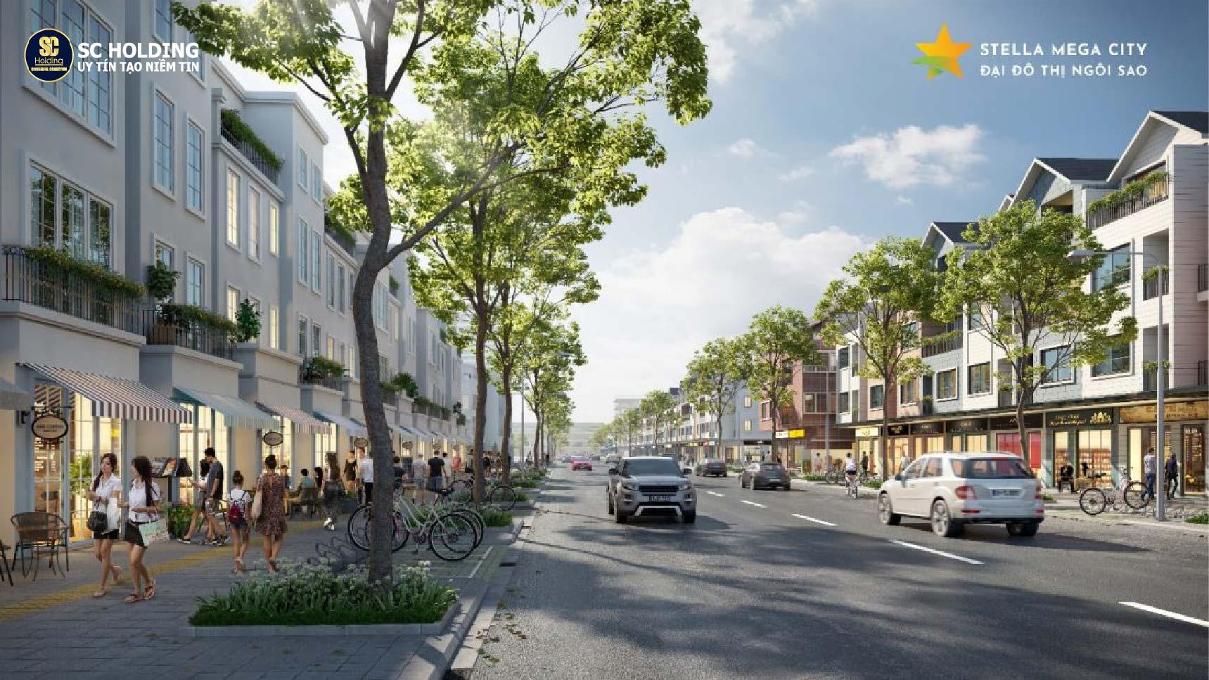 Sở hữu BĐS trung tâm dự án đô thị Stella Mega City chỉ với 590 triệu đồng