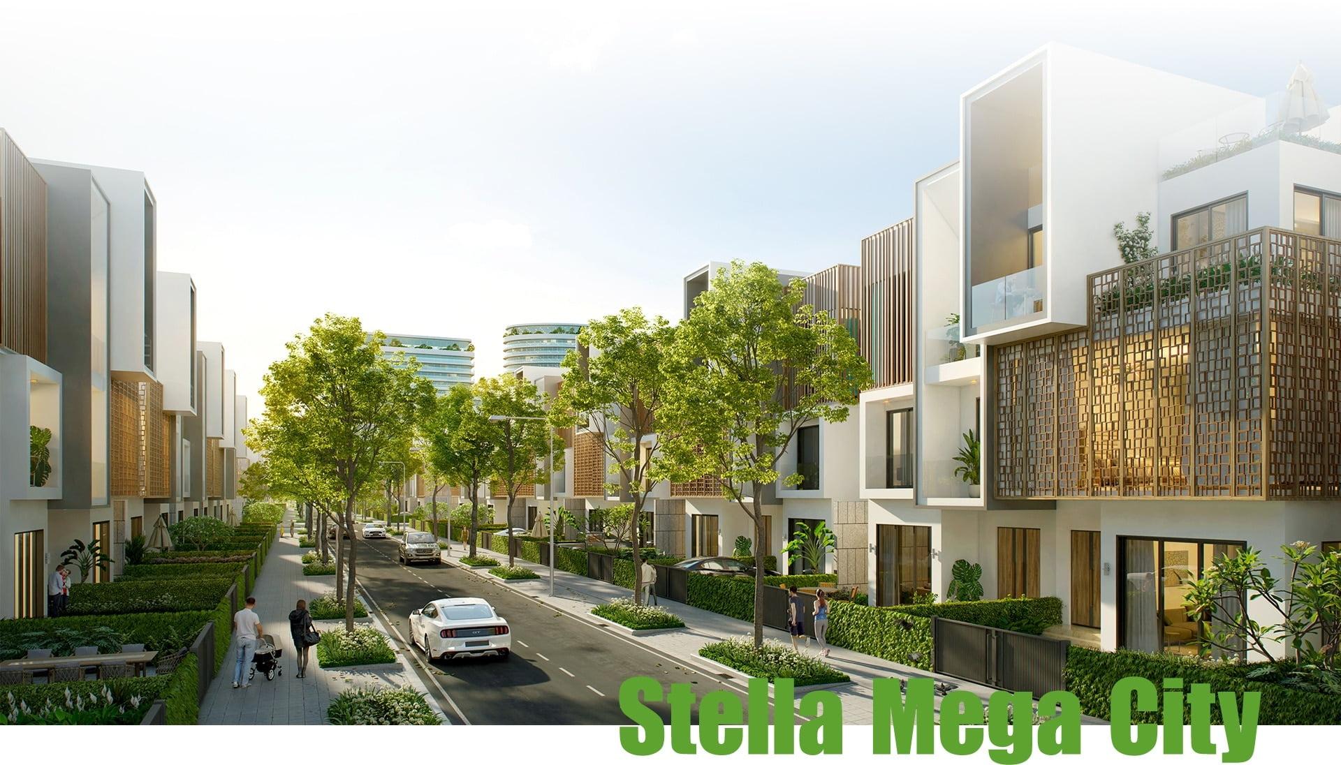 đại đô thi xanh Stella Mega City
