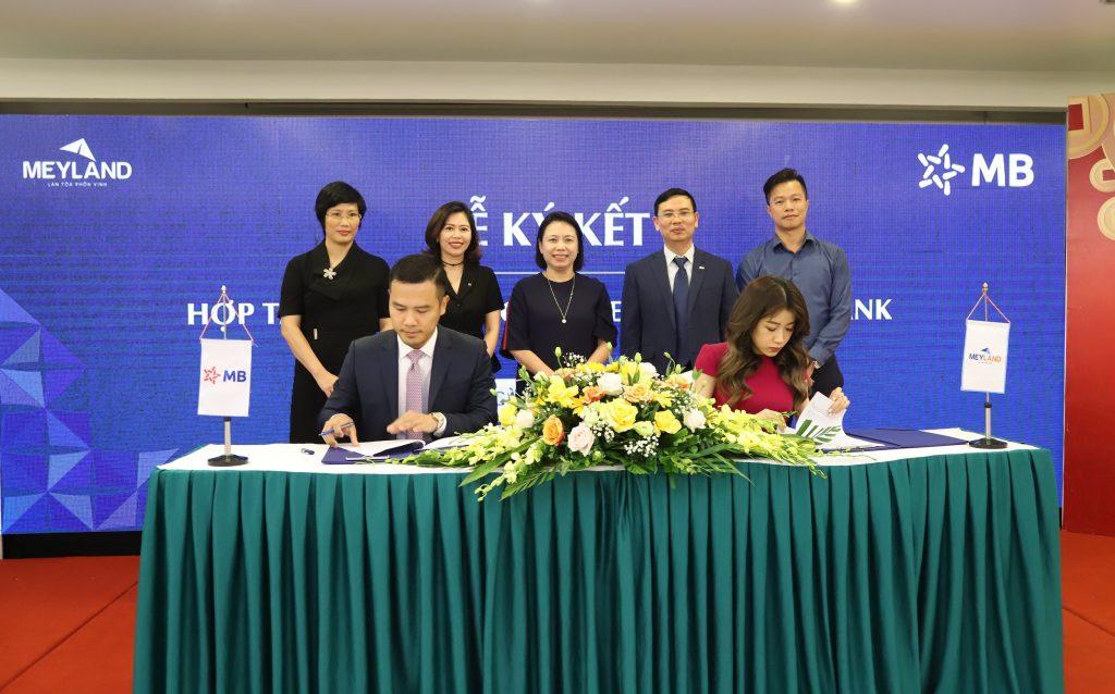 MEYLAND Tân Á Đại Thành và MBBANK Ký Kết Hợp Tác Toàn Diện