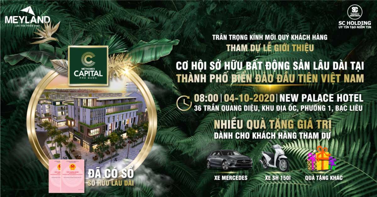 Lễ Giới Thiệu Cơ Hội Sở Hữu BĐS Lâu Dài TP Biển Đảo Đầu Tiên Việt Nam 04/10/2020