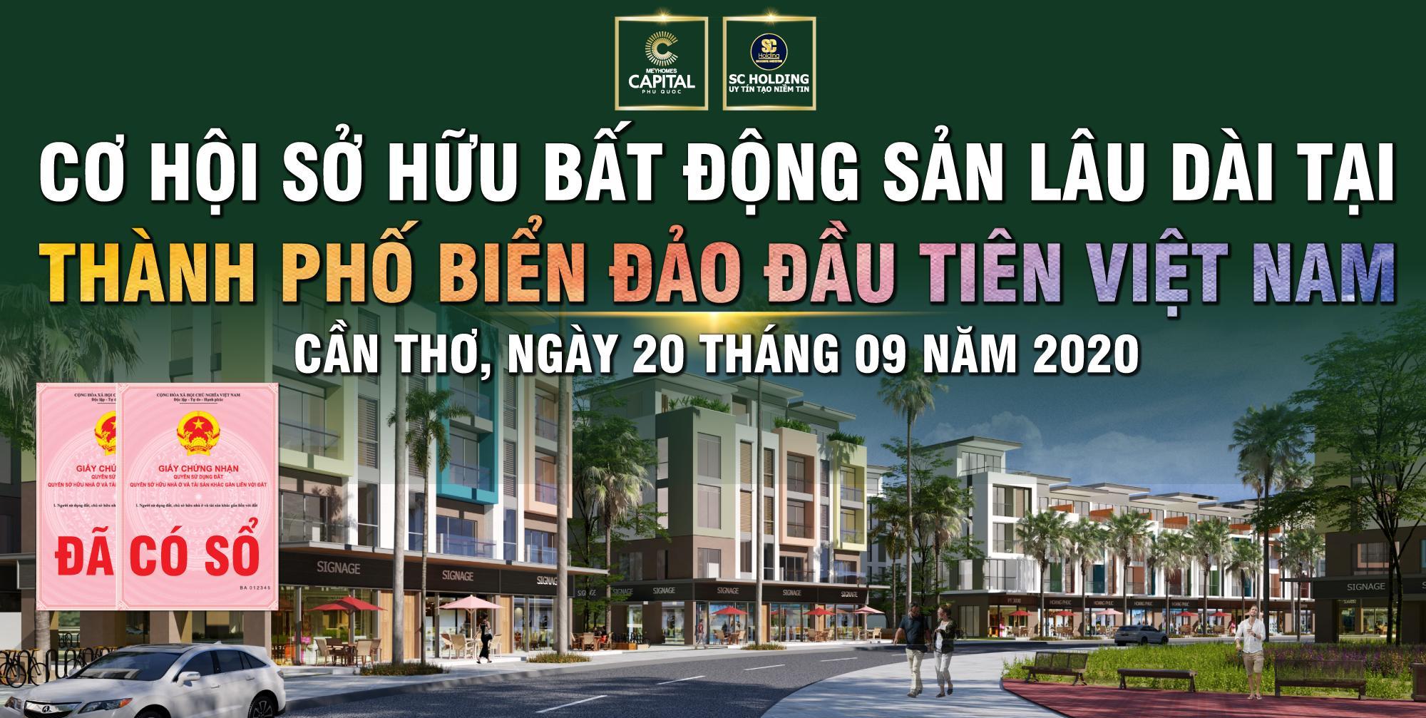 Meyhomes Capital Phú Quốc tung chính sách bán hàng hấp dẫn tháng 09/2020