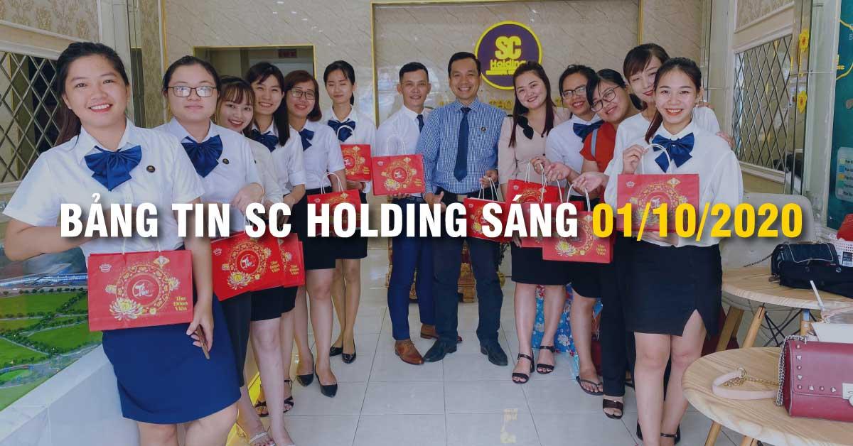 Bảng Tin SC Holding Sáng 01/10/2020