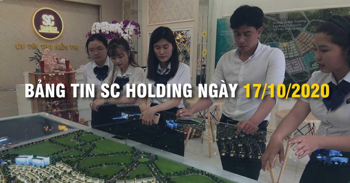 Bảng Tin SC Holding Ngày 17/10/2020