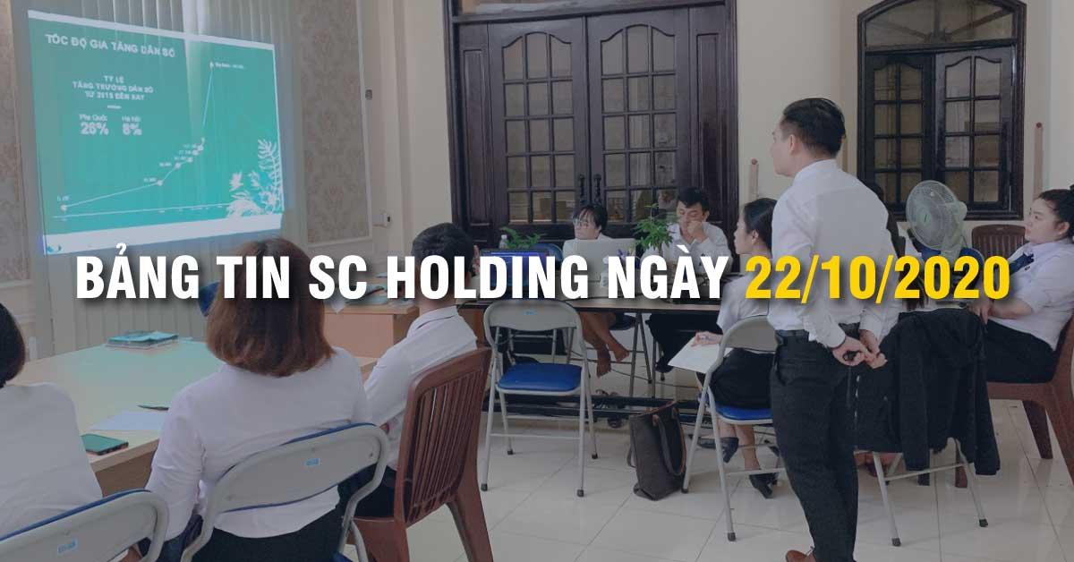 Bảng Tin SC Holding Ngày 22/10/2020