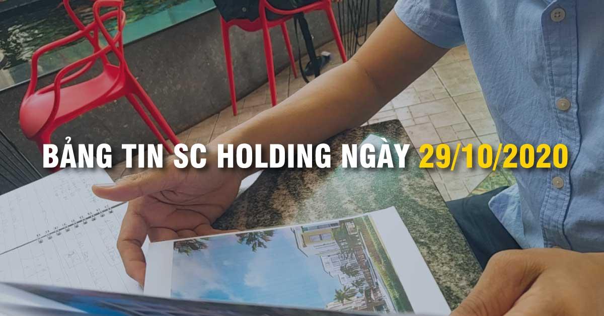 Bảng Tin SC Holding Ngày 29/10/2020
