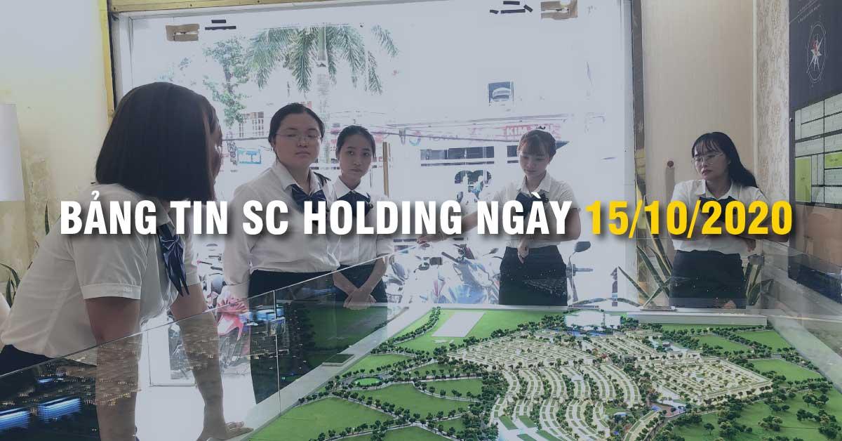 Bảng Tin SC Holding Ngày 15/10/2020