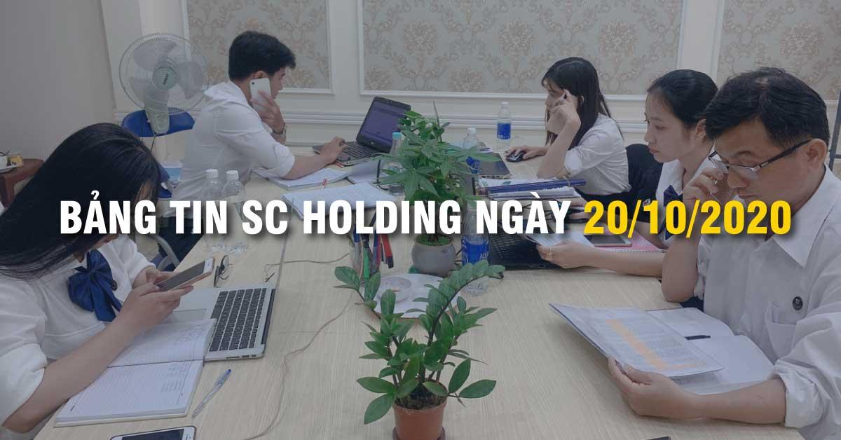Bảng Tin SC Holding Ngày 20/10/2020