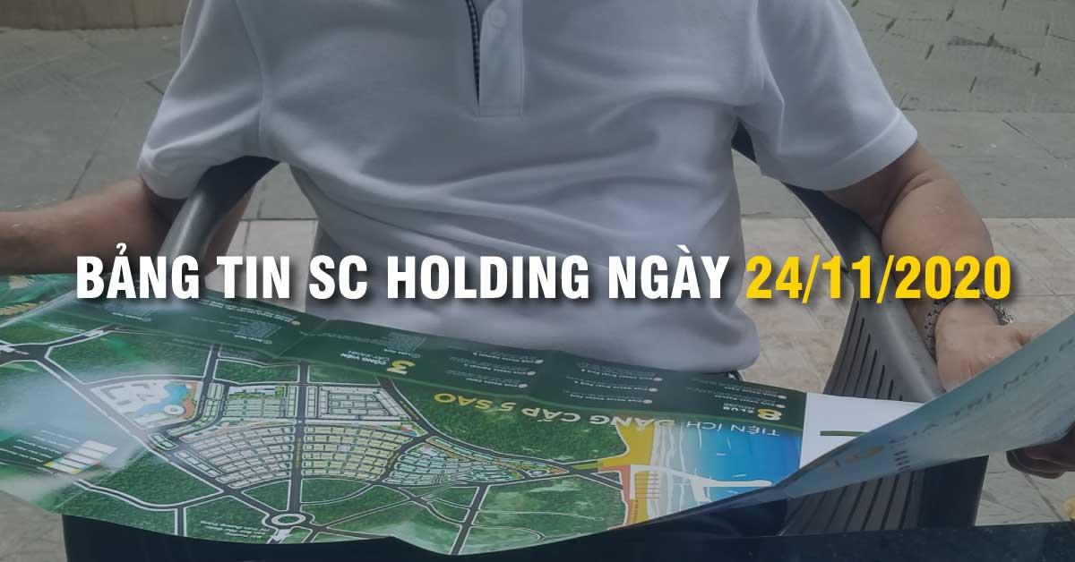 BẢNG TIN SC HOLDING NGÀY 24/11/2020