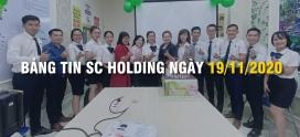 BẢNG TIN SC HOLDING NGÀY 19/11/2020