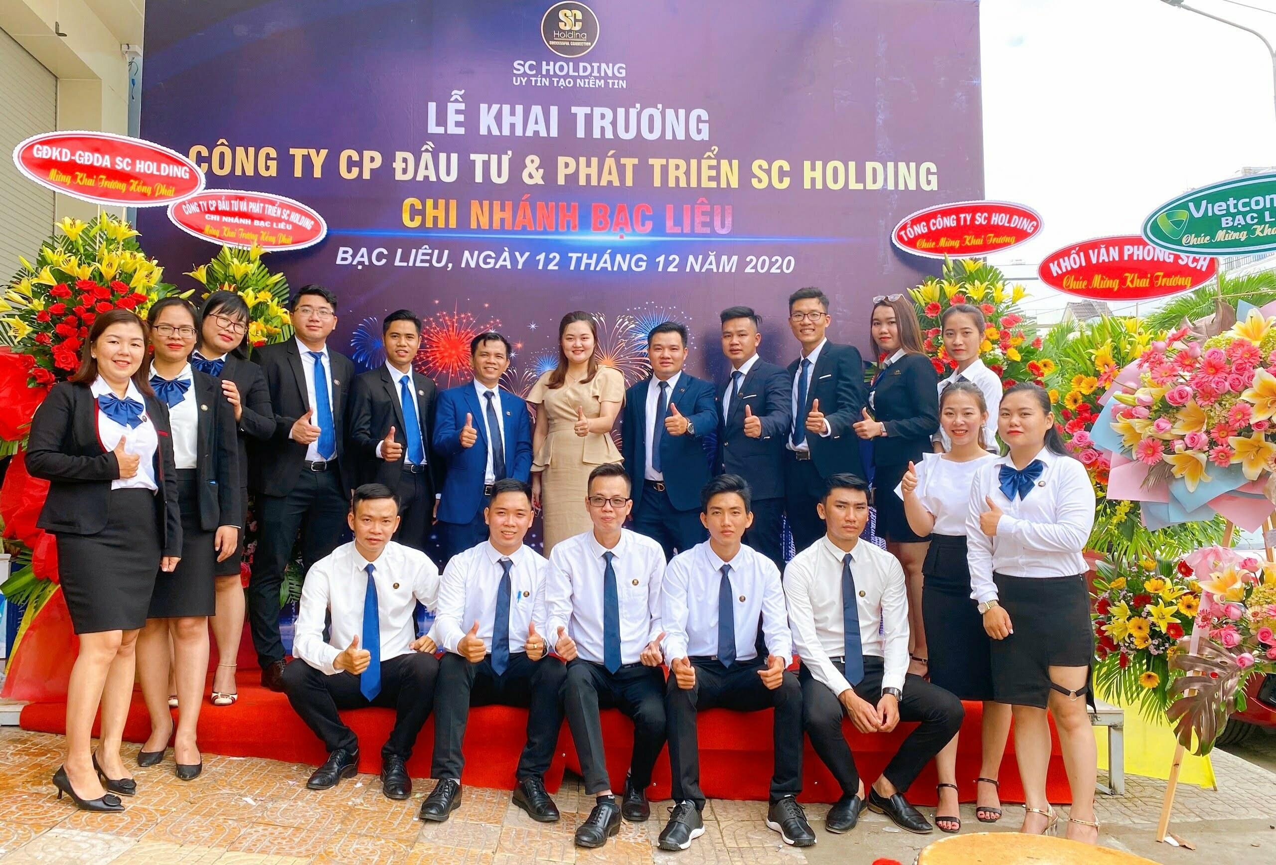 tung bung le khai truong chi nhanh sc holding tai bac lieu6