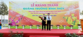 Kita Group Khánh Thành Quảng Trường Khu Đô Thị Đầu Tiên Tại Cần Thơ