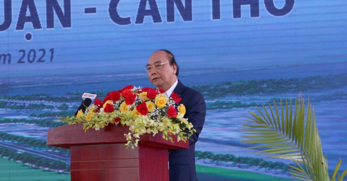 Thủ Tướng Yêu Cầu Đẩy Nhanh Xây Cầu Mỹ Thuận 2, Kịp Thông Tuyến Cao Tốc TP.HCM – Cần Thơ