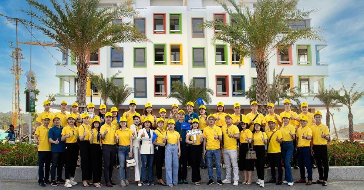 Meyhomes Capital Phú Quốc Tổ Chức Trải Nghiệm Cho Chuyên Viên Bán Hàng