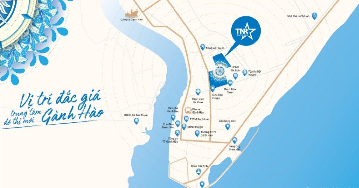 Vị Trí Thiên Quân Marina Plaza Cần Thơ