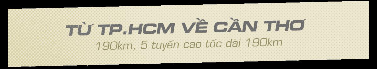 Kết Nối Nhanh Cao Tốc Từ TP. HCM về Miền Tây